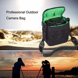 dslr cameras bags UK - HUWANG Portable Waterproof Scratch-proof Polyester Surface Material Outdoor Sports Sling Shoulder Bag Handbag DSLR Camera Bag