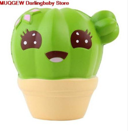 $enCountryForm.capitalKeyWord NZ - Cactus Cream Scented Decoration Phone Straps Squeeze Squishy Slow Rising Antistress Funny Gadgets Novelty Interesting Toys Gift