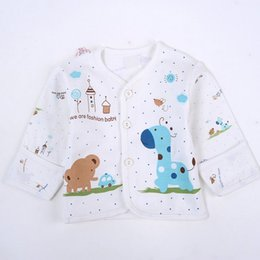 $enCountryForm.capitalKeyWord Canada - 5 Pcs Hot Sale Newborn Baby Cotton Cartoon Monk Tops Shirt Pants Bib Hats Infant Clothes