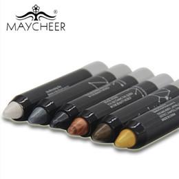 Discount bright eyes - MAYCHEER High light Shimmer Eye shadow pen Silkworm pen Lasting non-decolorization To create a natural bright Eye makeup