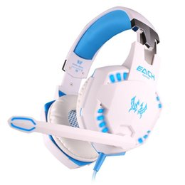 Games For Smartphones Australia - New Gaming Headset Noise Reduction Games Headphones Vibration Function With Mic Stereo Bass LED Light For Computer PS4 Xbox One Smartphones