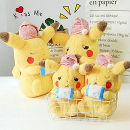 $enCountryForm.capitalKeyWord NZ - Super soft plush Pikachu toy Stuffed japan game action figure doll crying sicked Pikachu cuddly toys for children kids birthday