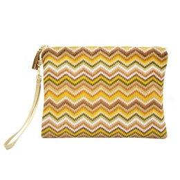 $enCountryForm.capitalKeyWord UK - waterproof Women Canvas Wallet And Handbags Portable Water proof Weave Clutch Purse Zipper Envelope Beach Bag Handbags