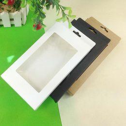 100pcsUniversal Handy-Kasten-Paket-Papier-Kraftpapier-Brown-Kleinverpackungs-Kasten für iphone4 5 6 Samsung S4 S5 Note3 Handy