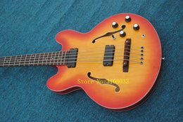 Sell guitar china online shopping - Honey Strings BB2 Hollow Electric Bass New Arrival China Bass Guitars Best Selling