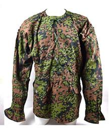 camo army uniform 2019 - WWII GERMAN ARMY ELITE M42 SPRING AUTUMN OAK CAMO REVERSIBLE SMOCK CAMOUFLAGE UNIFORM- World Store discount camo army un
