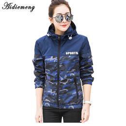 $enCountryForm.capitalKeyWord Australia - Aidiemeng Jacket Women Windbreaker 2018 Autumn Fashion Camouflage Women Basic Jacket Coat Hooded Female Casual Thin Coat OutwearY1882402