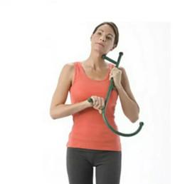 Thera Cane Back Hook Masajeador Cuello Auto-muscular Barra de presión Herramienta Manuel Trigger Point Punto original Varilla de masaje en venta