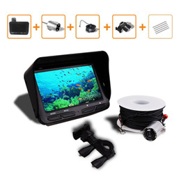 "Chinese  2018 Underwater Fishing Camera DVR Video 6 LED Night Vision Fish Finder 4.3"" HD TFT LCD Monitor Screen Fishing Fish Finder manufacturers"