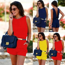 f1de0bf88ac Wholesale evening jumpsuits online shopping - HOT Sale Women Summer Playsuit  Bodycon Clubwear Evening Party Jumpsuit