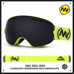 ski big goggles 2019 - New NANDN brand ski goggles double UV400 anti-fog big ski mask glasses skiing men women snow snowboard goggles discount