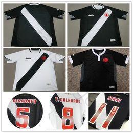25f84df61 2018 2019 Vasco da Gama Jersey de fútbol Muriq Martin Fabiano MAXI  Y.PIKACHU A. RIOS PAULINHO Home Road Negro Blanco Personalizar Camiseta de  fútbol