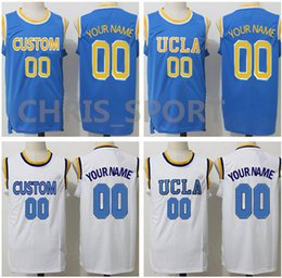 $enCountryForm.capitalKeyWord NZ - Customized jerseys UCLA embroidered basketball game uniform personal team any name number