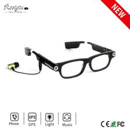 En gros-sans fil Bluetooth caméra lunettes HD 720 P Sports DV Smart lunettes de soleil Mini caméscopes Lunettes avec casque à appels et musique