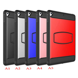Drop protector for ipaD online shopping - Military Heavy Duty Rugged Impact Armor Case For iPad mini Air Pro New iPad Galaxy Tab A E Built in Screen Protector