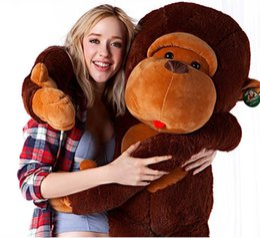 Ingrosso Anime Paul The Giant Monkey Peluche ripiene, Regalo amoroso per bambini, Perfect Bithday Present (Large)