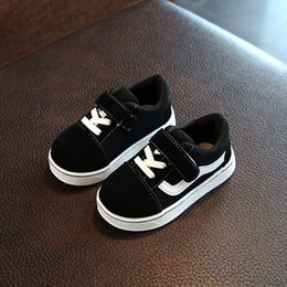 $enCountryForm.capitalKeyWord Australia - Solid cool baby casual shoes Spring Autumn cute baby girls boys sneakers sports infant tennis high quality first walkers