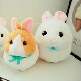 $enCountryForm.capitalKeyWord NZ - New Style Lovely Fat Rabbit Short Plush Toy Stuffed Animal Rabbits Plush Doll Children Birthday Gift