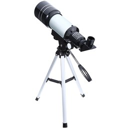 telescope professional Australia - wholesale Astronomical Monocular Telescope 2 Types Silver Professional Space Telescopes with Tripod Landscape Lens for Astronomy