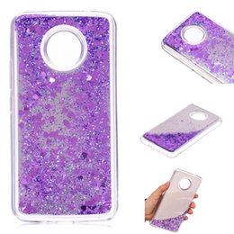 $enCountryForm.capitalKeyWord NZ - Cover For Motorola Moto E4 Plus European version Case Quicksand Glitter Powder Mirror Hard Mobile phone Cases Covers