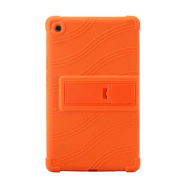 Inch Tablet Protective UK - 50pcs Soft Silicon Rubber TPU Back Cover for Huawei Mediapad M5 8.4 SHT-AL09 SHT-W09 8.4 inch Tablet Protective Pouch Bag Case Stand