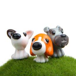 6pcs / Set My Dog Decorazione del giardino fai-da-te Collezione Home Bambole Ornamenti da giardino Micro Pot Accessori giardinaggio