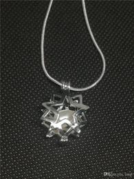 $enCountryForm.capitalKeyWord Australia - 18kgb Shine Star Pearl Cage Pendants Oyster Lockets For DIY Wish Love Pearl Pendant Necklace Jewelry Good Gift Women P14