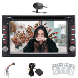 rear mirror camera gps Canada - Rear Camera Eincar Android 7.1 Double 2 DIN 6.2''In Dash Car DVD Stereo Headunit Autoradio WIFI Bluetooth Steering Wheel Control Mirroring