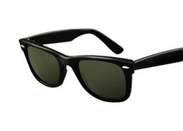 $enCountryForm.capitalKeyWord Australia - Hot Sale Ray Aviator Sunglasses Vintage Pilot Brand Sun Glasses Bans UV400 Men Women Ben Mirror 2140 54mm Glass Lenses With Case