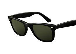 Venda quente Ray Aviador Sunglasses Bans UV400 Marca Piloto Do Vintage Óculos de Sol Das Mulheres Dos Homens Ben Espelho 2140 54mm Lentes De Vidro Com Caso venda por atacado
