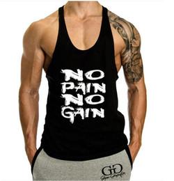 $enCountryForm.capitalKeyWord Canada - Bodybuilding Singlets Mens Tank Tops Shirt Fitness Men 'S Golds Gyms Stringer Tank Top Muscle Undershirt Cotton Sleeveless Vest