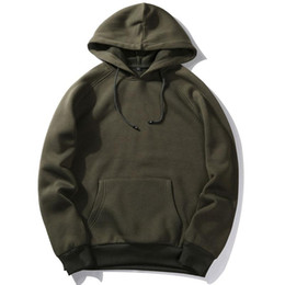 good quality sweatshirts UK - Brand Hip Hop Hoodies Coat Solid Autumn Spring Outerwear Good Quality Men Hoodie Sweatshirt Pullover Fashion Sportswear EUR Size