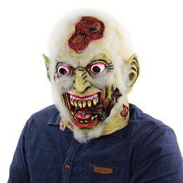 New Hot Adult Party Maschera di lattice Terror Marcia a piedi Maschera corpo Halloween Party Dress Up Maschera speciale di orrore in Offerta