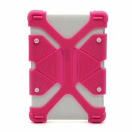silicone case for ipad 9.7 2019 - Universal Soft Silicone Tablet Phone Case Heavy Duty Shockproof Protective Stand Cover For Ipad mini 7 8 9 12 inch Table