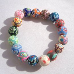 Wholesale National Style Bracelet Seven Colors Polymer Clay Culture And Art DIY Handmade Fashion Accessories Hot Sale ze ff