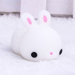 doll fun NZ - Fun Antistress Ball Toy Cute Seals Rabbit duck sheep Emotion Vent Ball Resin Relax Doll Adult Stress Relieve Novelty Toys Gift random color