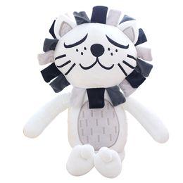 Discount lion toys for kids - 40cm Kawaii Plush Cat Lion Doll Toys For Children Room Decor Stuffed Plush Toys Kids Baby Appease Doll Girls Boys Christ