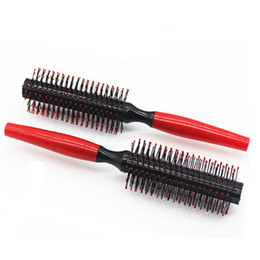 curl tools UK - 1PC Roll Brush Round Hair Comb Wavy Curly Styling Care Curling Beauty salon Tool