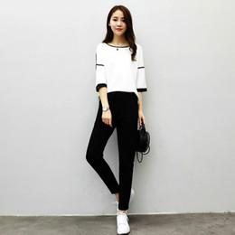 Discount slim dress working girl , girls Korean wild leisure sports sets  new women fashion work