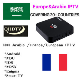 Chinese  QHDTV Yearly Iptv M3U French Arabic Iptv For More 1300 Live Dutch UK Spain Turkey Germany Algeria Africa Italy IP TV Channels manufacturers