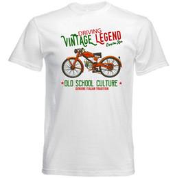 Chinese  VINTAGE ITALIAN MOTORCYCLE MOTO GUZZI GUZZINO - NEW COTTON T-SHIRT colour jersey Print t shirt manufacturers