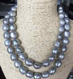047fd3b2a5528 Grey Baroque Pearl Necklace Online Shopping | Grey Baroque Pearl ...