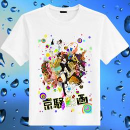 $enCountryForm.capitalKeyWord Australia - Kyousougiga t shirt New arrive anime short sleeve gown Cartoon Kyusgiga white tees Pure casual clothing Quality cotton fabric Tshirt