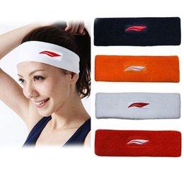 Fascia per capelli assorbente dello yoga della fascia esterna del cotone di forma fisica esterna del cotone della fascia del fazzoletto da notte dello sport di Elastics dello sport