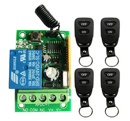 $enCountryForm.capitalKeyWord Australia - New DC12V 24V 1CH 10A Remote Control Light Switch Relay Output Radio Receiver Module and Belt buckle Transmitter shutters lamp