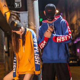 $enCountryForm.capitalKeyWord Canada - Hip Hop Hoodies Mens Casual Letter Print Skateboards Pullover Streetwear Hoodie Men Patchwork Hooded Sweatshirts Male Couple Hot