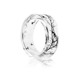 $enCountryForm.capitalKeyWord UK - Fashion Ring Handmade Transparent Bird Branch Resin Rings Dry Flower Inside Women Finger Knuckle Ring