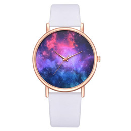 blue planet watch 2019 - Lvpai Brand PU Leather Watch Luxury Classic Wrist Watch Casual Planet Quartz Wristwatch Clock Women Watches discount blu