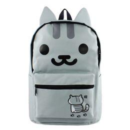 0ba6ef77c021 Anime Neko UK - Neko Atsume Cosplay Anime Backpack My Neighbor Totoro  Outdoor Casual Bag ONE