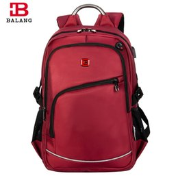 Chinese  BALANG Brand Popular College School Backpacks for Teenagers Boys Waterproof Travel Notebook bags for Girls Fashion manufacturers